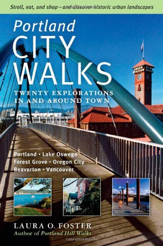 Portland City Walks Twenty Explorations in and Around Town  2008 edition cover