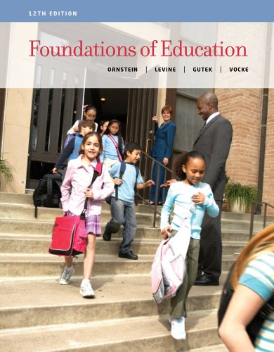 Foundations of Education  12th 2014 edition cover
