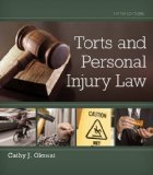 Torts and Personal Injury Law:   2014 edition cover