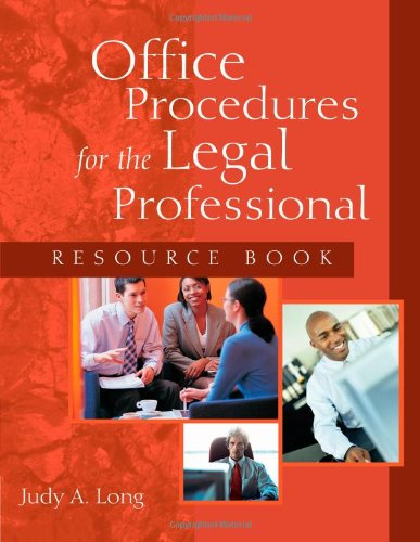 Legal Professional Rsrce Book  2005 9781401840853 Front Cover
