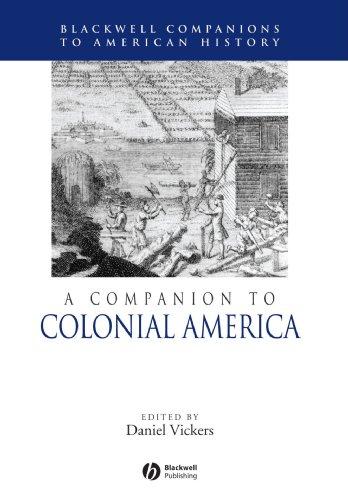 Companion to Colonial America   2006 edition cover