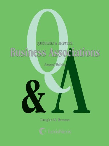 Business Associations:  2nd 2011 9781422490853 Front Cover