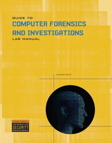 Guide to Computer Forensics and Investigations  4th 2011 edition cover
