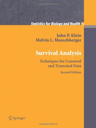 Survival Analysis Techniques for Censored and Truncated Data 2nd 2003 edition cover