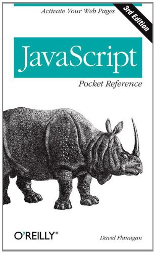 JavaScript Pocket Reference  3rd 2011 edition cover