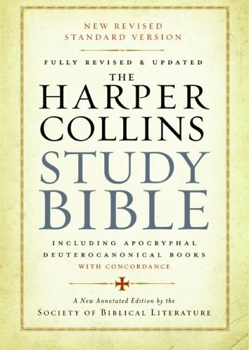 HarperCollins Study Bible Fully Revised and Updated Revised 9780060786854 Front Cover