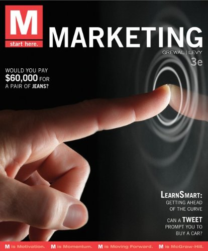 M: Marketing  3rd 2013 edition cover