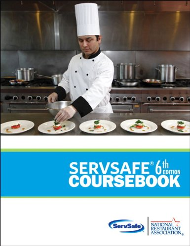 Servsafe Coursebook  6th 2013 (Revised) 9780133075854 Front Cover