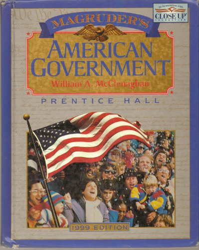 Magruder's American Government, 1999 9th 1999 (Student Manual, Study Guide, etc.) 9780134359854 Front Cover