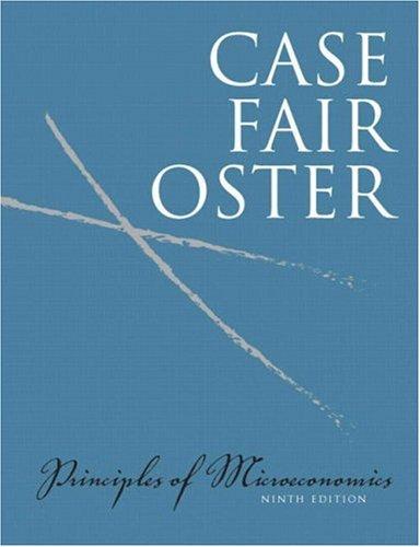 Principles of Microeconomics  9th 2009 edition cover