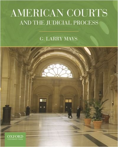American Courts and the Judicial Process   2011 edition cover