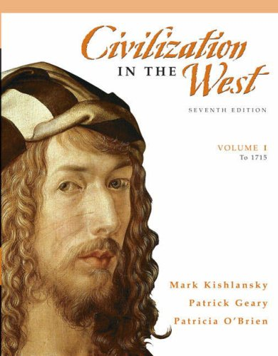 Civilization in the West (To 1715)  7th 2008 edition cover