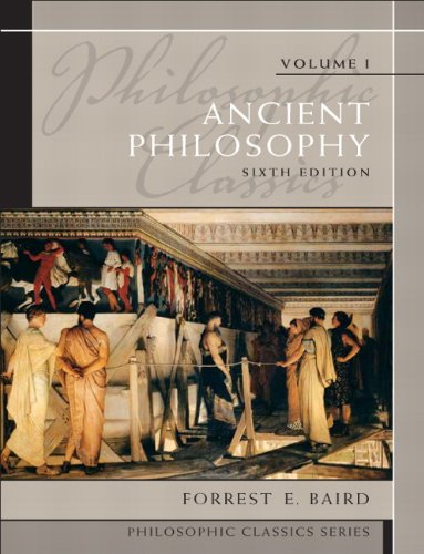 Ancient Philosophy  6th 2011 (Revised) edition cover