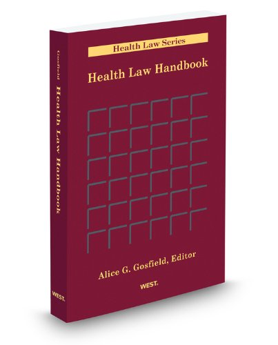 Health Law Handbook 2011:  2011 edition cover