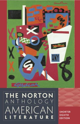 Norton Anthology of American Literature  8th 2012 9780393918854 Front Cover