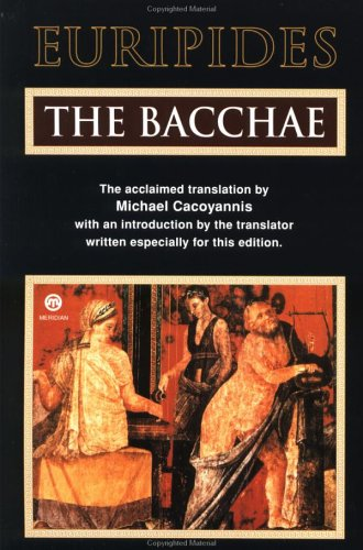 Bacchae  N/A edition cover