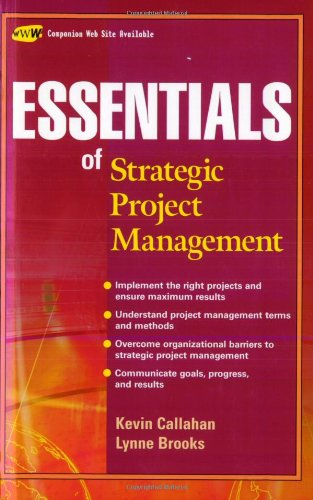 Essentials of Strategic Project Management   2004 9780471649854 Front Cover
