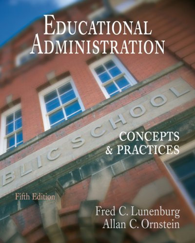 Educational Administration Concepts and Practices 5th 2008 (Revised) edition cover