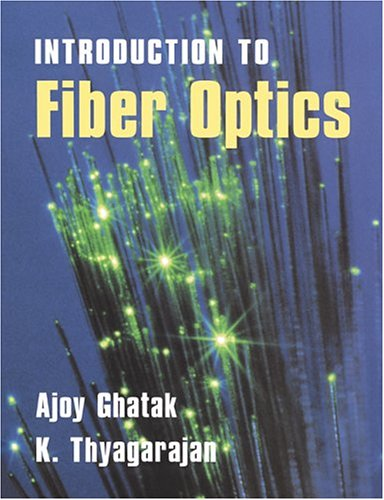 Introduction to Fiber Optics   1998 9780521577854 Front Cover