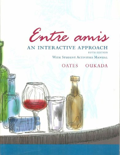 ENTRE AMIS:INTERACT..W/ACT.MAN N/A 9780618770854 Front Cover