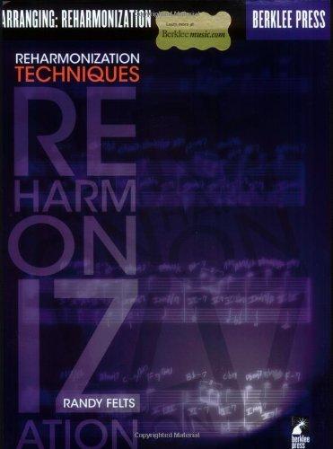 Reharmonization Techniques  N/A edition cover