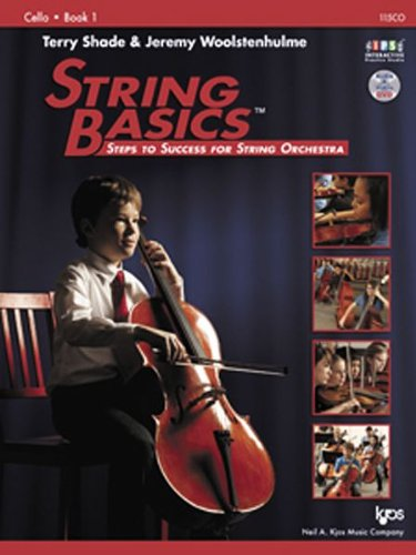 STRING BASICS,CELLO BOOK 1-W/DVD        N/A edition cover