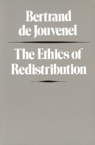 Ethics of Redistribution   1990 (Reprint) 9780865970854 Front Cover