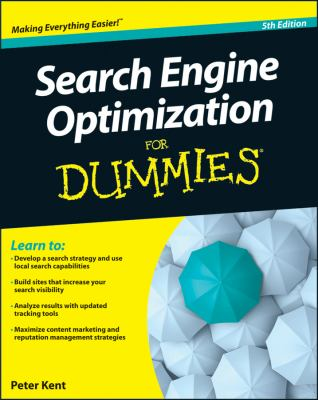 Search Engine Optimization for Dummies  5th 2012 edition cover