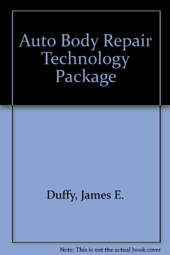 Auto Body Repair Technology Package: 4th 2004 9781401830854 Front Cover