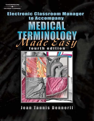 Medical Terminology Made Easy-Electronic Classroom Manager  N/A 9781401898854 Front Cover