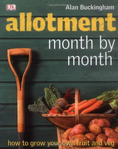 Allotment Month by Month   2009 9781405340854 Front Cover