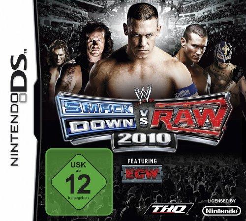 WWE Smackdown vs Raw 2010 Nintendo DS artwork