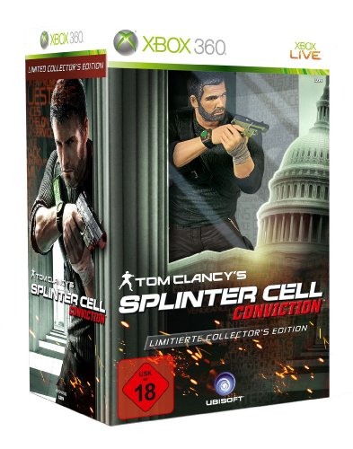 Tom Clancy's Splinter Cell: Conviction - Collector's Edition Xbox 360 artwork