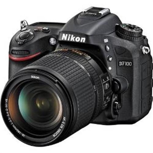 Nikon D7100 24.1 MP DX-Format CMOS Digital SLR Camera Bundle with 18-140mm and 55-300mm VR NIKKOR Zoom Lens (Black) product image