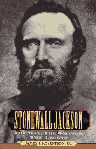Stonewall Jackson The Man, the Soldier, the Legend  1997 edition cover