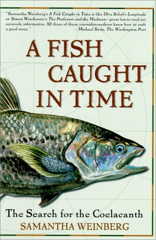 Fish Caught in Time The Search for the Coelacanth N/A edition cover