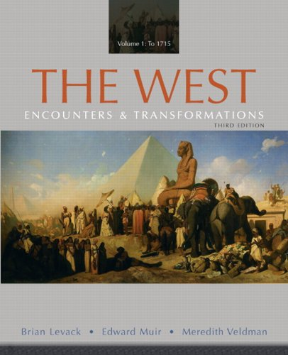 West Encounters and Transformations 3rd 2011 edition cover