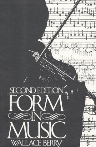 Form in Music  2nd 1986 9780133292855 Front Cover
