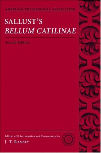 Sallust's Bellum Catilinae  2nd 2006 edition cover