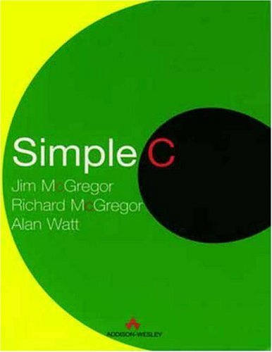Simple C   1998 edition cover