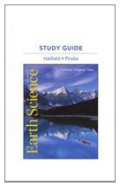 Study Guide for Earth Science  13th 2012 edition cover