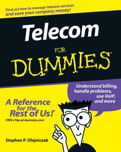 Telecom for Dummies   2006 edition cover