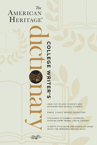 American Heritage College Writer's Dictionary   2013 edition cover