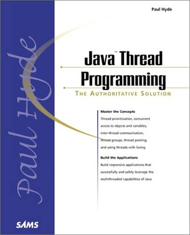 Java Thread Programming   1999 edition cover