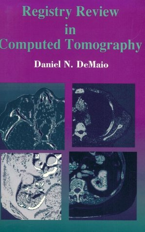 Registry Review in Computed Tomography   1996 edition cover