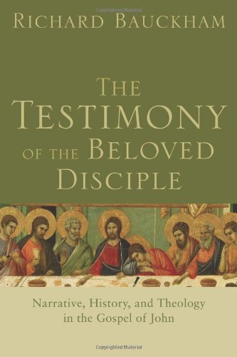 Testimony of the Beloved Disciple Narrative, History, and Theology in the Gospel of John  2007 edition cover