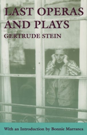 Last Operas and Plays   1995 edition cover