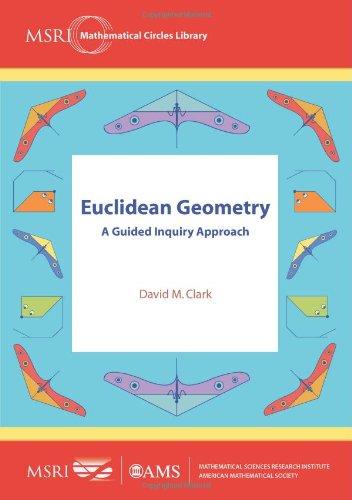 Euclidean Geometry A Guided Inquiry Approach  2012 edition cover