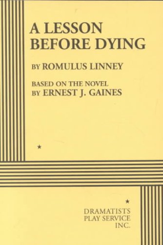 Lesson Before Dying   2001 edition cover