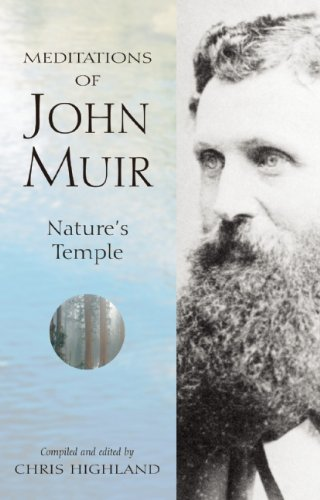 Meditations of John Muir Nature's Temple  2001 edition cover